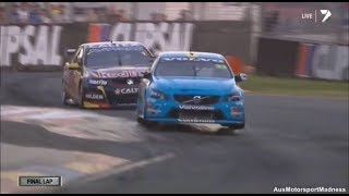 getlinkyoutube.com-V8 Supercars | Mclaughlin vs Whincup Awesome Finish! - 2014 Clipsal 500