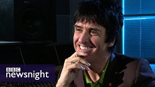 getlinkyoutube.com-Johnny Marr on The Smiths, Oasis and advice from Paul McCartney - BBC Newsnight
