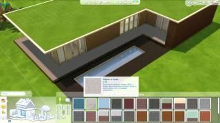 getlinkyoutube.com-The Sims 4 - Modern Greenland 4537 - Speed Build #2