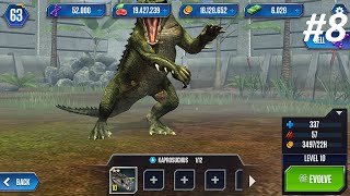 getlinkyoutube.com-Jurassic World Dunkleosteus, Kaprosuchus, Aquatic Pack Opening - Ep8