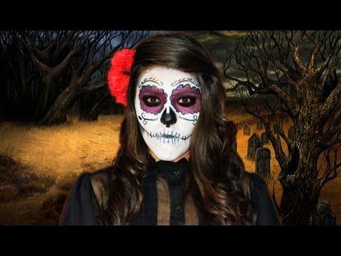 Disfraz Calavera de Azúcar | Tutorial de maquillaje Catrina | Ideas de disfraces para halloween