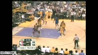 getlinkyoutube.com-2004 NBA Finals - Detroit vs Los Angeles - Game 2 Best Plays
