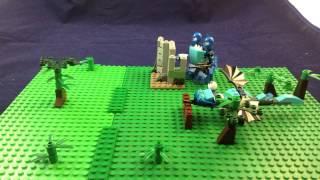 getlinkyoutube.com-Mixels 12: Paintball War