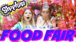 getlinkyoutube.com-SHOPKINS FOOD FAIR - Blind Bags Surprise Toys Season 1 2 3 Limited Edition Hunt
