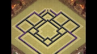 getlinkyoutube.com-Clash of Clans | TH10 Base Build | Trophy Base | Speed Build | Champions League Base Layout