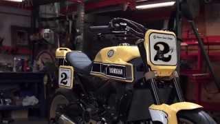 getlinkyoutube.com-Yamaha Yard Built 900 'Faster Wasp' by Roland Sands Design