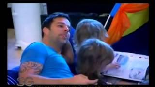 getlinkyoutube.com-Ricky Martin junto a sus hijos - Susana Gimenez