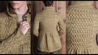 getlinkyoutube.com-#20 Smocked Cable Coat, Vogue Knitting Fall 2010