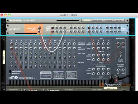 Learn how to sample in Reason 5 : Steve Heithecker : Part One