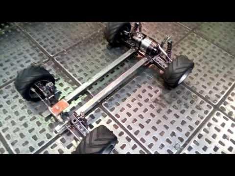 Сделал рулевой механизм на rc модель