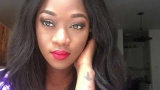 getlinkyoutube.com-Classic red lips | Estee Lauder palette
