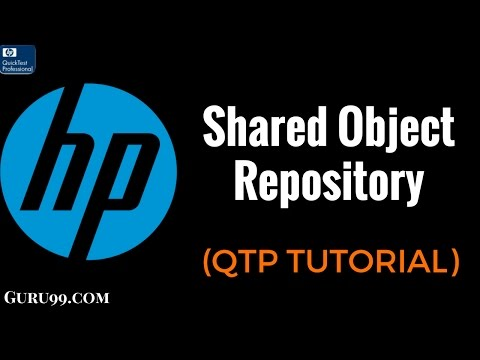 QTP 24 : Shared Object Repository