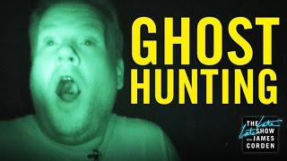 getlinkyoutube.com-Ghost Hunting with James Corden & Reggie Watts
