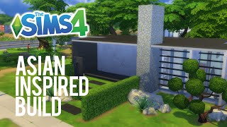The Sims 4 Speed Build — Asian Inspired