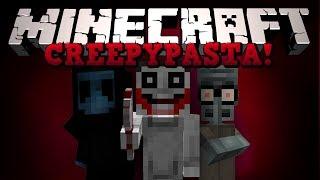 getlinkyoutube.com-Minecraft: КРИПИПАСТА! (Jeff the Killer, Squidwards Suicide и тд) Обзор модов [CreepyPastaCraft]