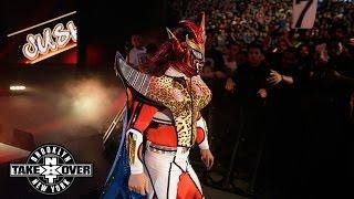 "getlinkyoutube.com-WWE Network: Jushin ""Thunder"" Liger enters Barclays Center: NXT TakeOver: Brooklyn"