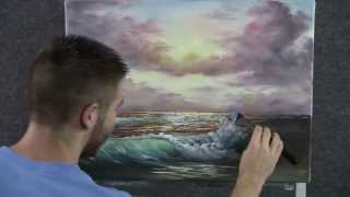 getlinkyoutube.com-Paint with Kevin Hill - Sunset Beach