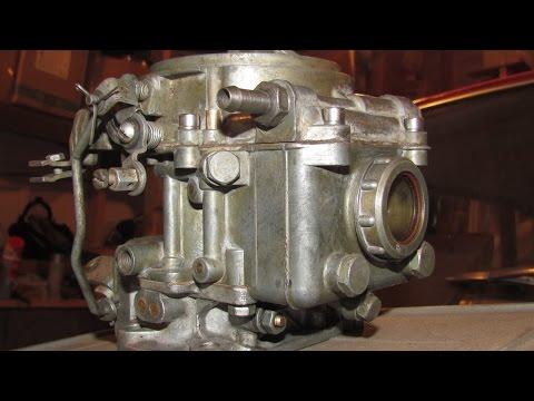 Пособие по переборке раннего карбюратора К126П