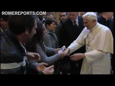 Best of 2011  December  Pope visits a prison in Rome