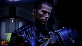 getlinkyoutube.com-Mass Effect 3 Ashley Williams Romance Sex Scene with Commander Shepard | ME3 CutScenes