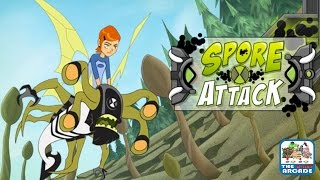 getlinkyoutube.com-Ben 10 Ultimate Alien: Spore Attack - Stop The Killer Spores (Cartoon Network Games)
