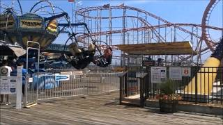 getlinkyoutube.com-Seaside Heights Boardwalk - the summer before and after Hurricane Sandy