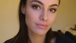 getlinkyoutube.com-Requested - Soft Brown Defined Eyes with Winged Liner Tutorial