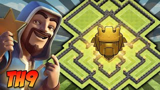 getlinkyoutube.com-O Mais Top Layout de PUSH CV9 [COMPLETO] Anti-Qeenwalk & Anti-Gohowi | Clash of Clans 2016