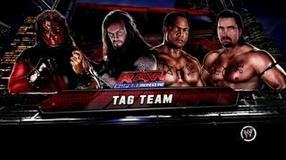 getlinkyoutube.com-WWE 13 Brothers of Destruction vs The Acolytes RAW 1 Match 4