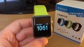 getlinkyoutube.com-Review & Unboxing of Apple Smart Watch Clones DWatch & AW08 Fake - Buying from Aliexpress & Alibaba