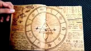 getlinkyoutube.com-Gravity Falls Journal 3 FAN MADE REPLICA - Español