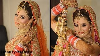 getlinkyoutube.com-Real Asian Bridal Makeup - Simple And Subtle Look - Complete Hair And Makeup
