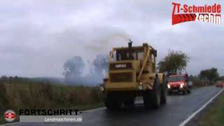 getlinkyoutube.com-Fortschritt ZT 303 & ZT 323 beim Körnermais abfahren + Neuzugänge (K 700-A & T 188)