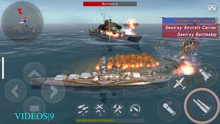 getlinkyoutube.com-WARSHIP BATTLE : Episode 16 Mission 04  - YAMATO DESPAIR
