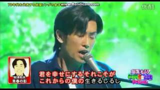getlinkyoutube.com-ビューティーこくぶ 財津和夫 青春の影 ものまね紅白歌合戦 2012.03.24