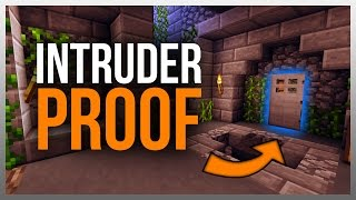 getlinkyoutube.com-✔ 5 Ways to Intruder Proof Your Base in Minecraft!