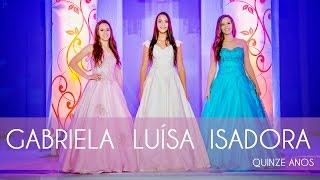 15 anos Gabriela, Luísa e Isadora | Ijuí - RS