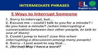 getlinkyoutube.com-500 Real English phrases part-2 ( intermediate phrases)