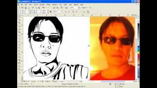 getlinkyoutube.com-CorelDraw Tutorial Vector Line Art