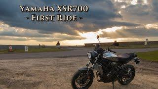 Yamaha XSR 700 - First ride