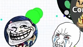 getlinkyoutube.com-DON'T PLAY LIKE THIS - AGAR.IO PRO TEAM?! TROLL (Agario Gameplay)