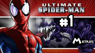 getlinkyoutube.com-Ultimate Spider-Man - #1 - Spidey & Venom: El dúo Simbiótico