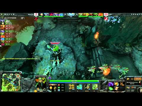 LGD vs Zenith - Game 2, Winner Bracket Semifinals - The International - English Commentary