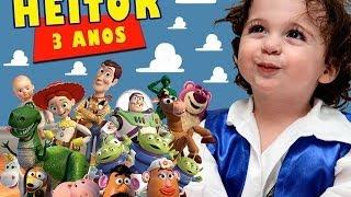 getlinkyoutube.com-Retrospectiva 3 anos do Heitor - Tema: Toy Story