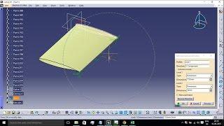 getlinkyoutube.com-WING MODELING USING AIRFOIL CO-ORDINATES IN CATIA V5