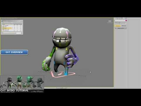 Creating Character Rigs for UDK using CAT in 3dsMax 2011