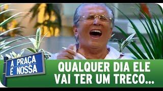 getlinkyoutube.com-A Praça É Nossa (28/01/16) - Carlos Alberto passa mal de tanto rir