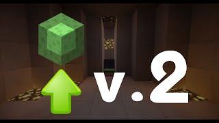 getlinkyoutube.com-สร้างลิฟท์ Slime block ใน Minecraft V.2
