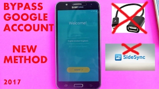 getlinkyoutube.com-📱Samsung Galaxy J7 📲 How to bypass Google Account ( without OTG or PC)📱