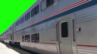 Real Passenger Train 1080p Green Screen